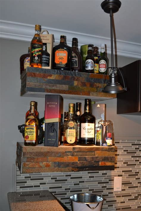 Bar Shelves by 1000 Images About Bar Shelves On
