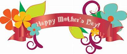 Mothers Happy Clipart Banner Clip Mother Banners
