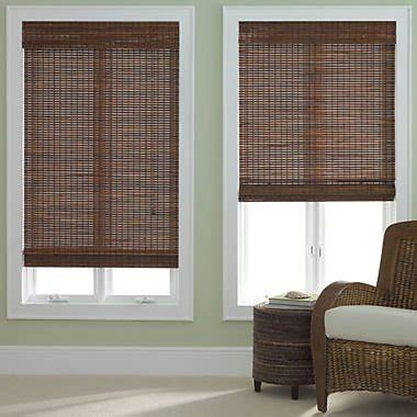 Jcpenney Home Bamboo Woven Wood Roman Shade Jcpenneycom