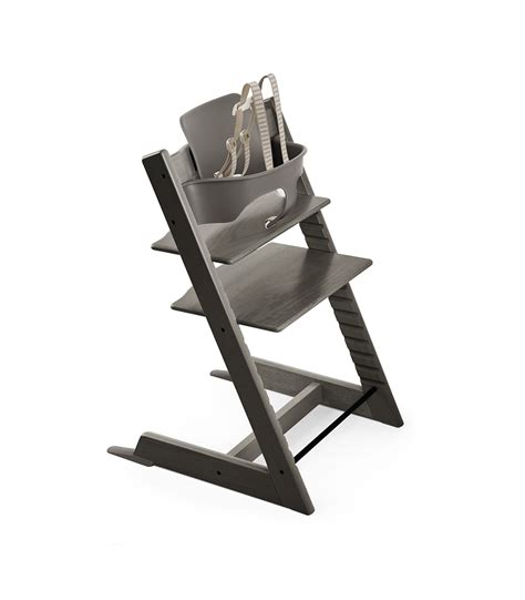 chaise b b stokke tripp trapp chair hazy grey