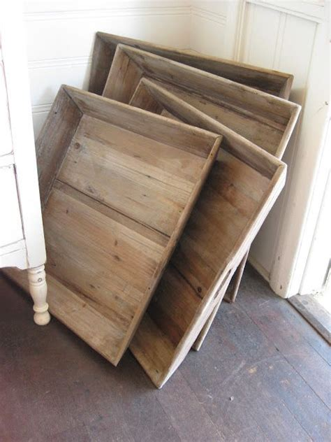 reclaimed wood trays wood tray barn wood projects