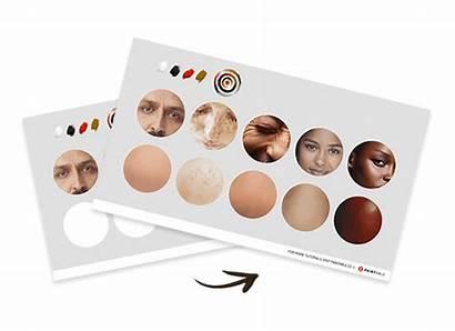 Skin Exercise Paint Tone Colors Tones