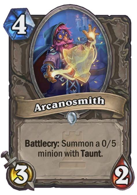 arcanosmith hearthstone card