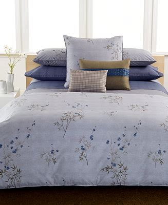 calvin klein home bamboo flowers bedding collection bedding collections bed bath macys