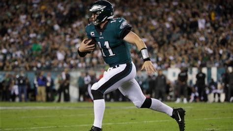 philadelphia eagles quarterback carson wentz named nfc