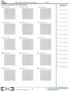decimals worksheets images comparing decimals