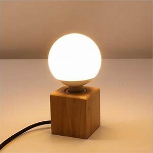 Fashion, Small, Solid, Wood, Table, Lamps, High, Quality, E27, Bulb, Led, Table, Lamps, Living, Room, Bedroom