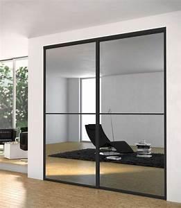 Miroir De Porte : porte de placard style atelier lt66 montrealeast ~ Teatrodelosmanantiales.com Idées de Décoration