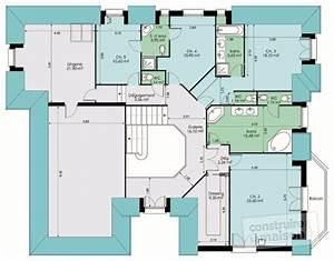 plan maison 7 metre large With marvelous des plans pour maison 9 plan et photo de maison avec etage ossature bois par