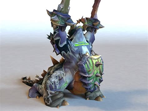 Warcraft Pit Lord Animated & Rigged 3d Model 3ds Max Files