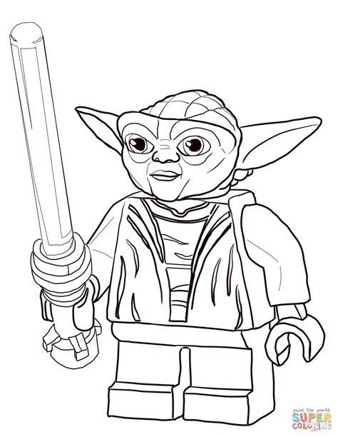 Coloriage Matre Yoda Coloriages Imprimer Gratuits