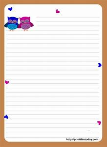 free printable stationary stampabili printables With letter writing paper