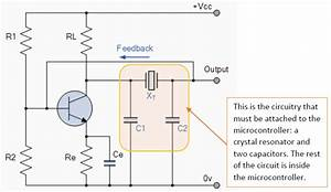 Using A Crystal Resonator With A Microcontroller