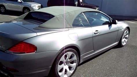 2004 Bmw 645ci For Sale~smg Trans