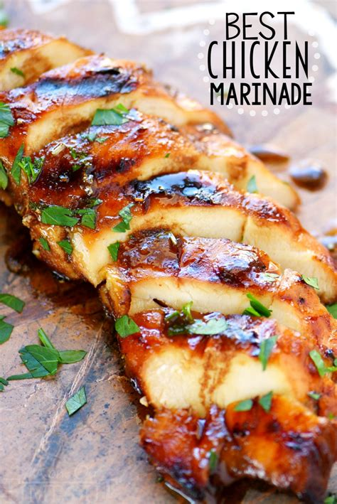 The Best Chicken Marinade Recipe  Mom On Timeout
