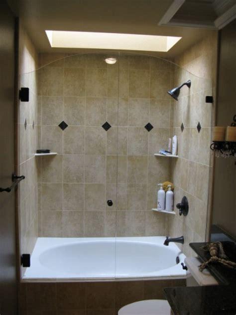seamless tub showers