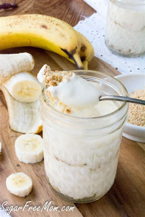 Healthy keto dessert recipes that can also be dairy free, gluten free, egg free, low carb, sugar free, paleo, no bake, and vegan! No-Sugar-Added Banana Cream Pie Parfaits | Recipe | Low ...