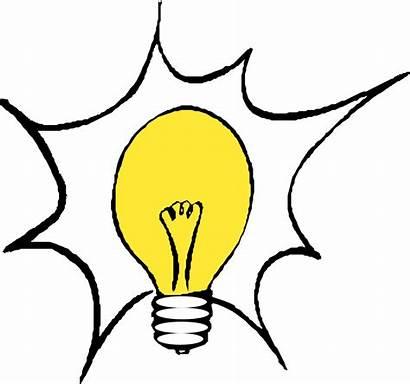 Bulb Clip Lightbulb Lighting Onlinelabels Brain Thinking