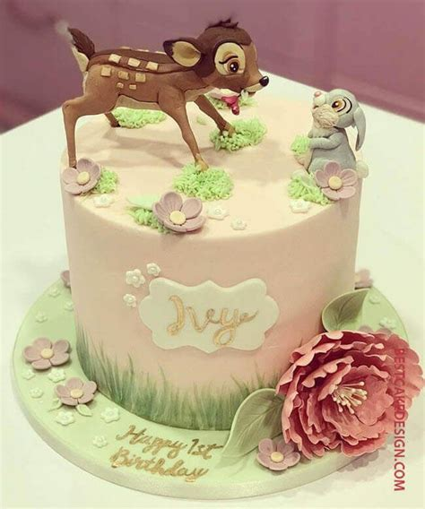 bambi cake design cake idea march