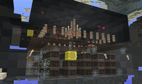 stronghold library minecraft project