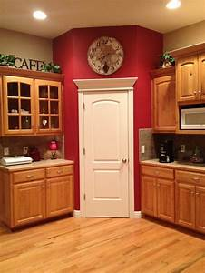 best 25 red kitchen walls ideas on pinterest red paint With kitchen cabinets lowes with family vinyl wall art