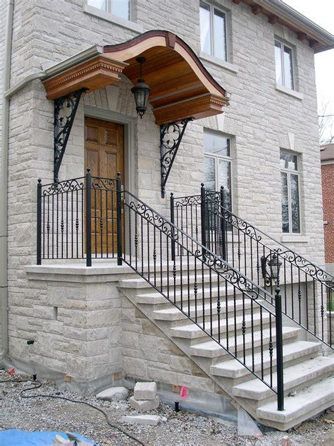 exterior wrought iron railings dufferin iron railings
