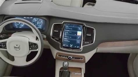 New Car Upholstery by Volvo Cars All New Xc90 Interior