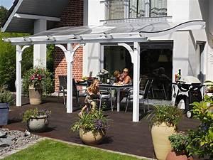 pergola quot venezia quot en bois 1502m2 434 x 339 x 312 With toit en verre maison 2 amenagement exterieurs pergolas