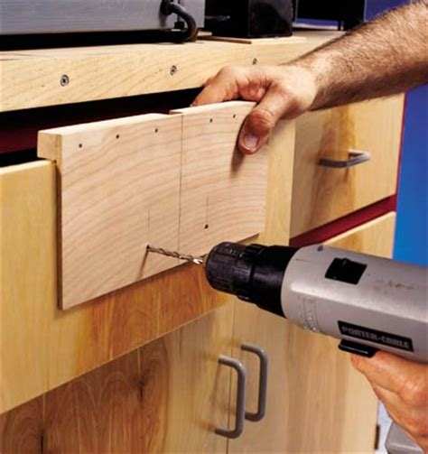 drilling jig for cabinet and drawer handles drawer pull mounting jig