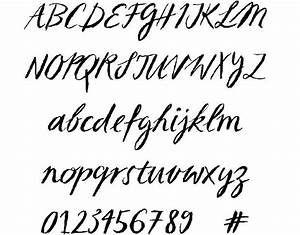 11 Cursive Number Fonts Images - Fancy Cursive Script Font ...