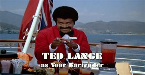Isaac Love Boat Pictures by 8 Frothy Facts About Your Favorite Bartender Ted Lange