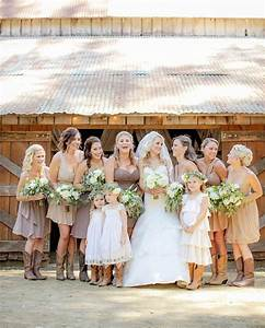 blog fabulous rustic barn wedding With barn wedding bridesmaid dresses