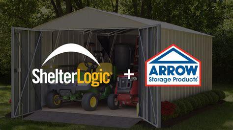 shelterlogic announces  acquisition  arrow sheds