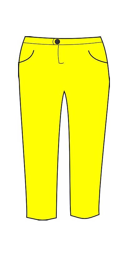 Pants Trousers Clip Clipart Clker Cliparts Vector