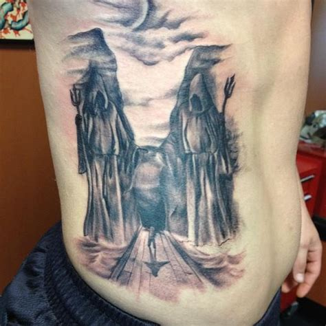Walk Through Valley Shadow Death Tattoo