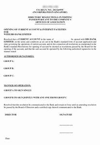 how to form a singapore private limited company With board resolution template singapore