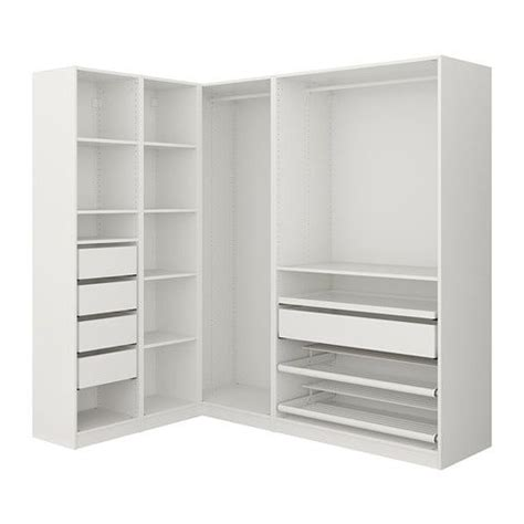 Corner Cupboards Ikea by Pax Corner Wardrobe White In 2019 Ideas For The House