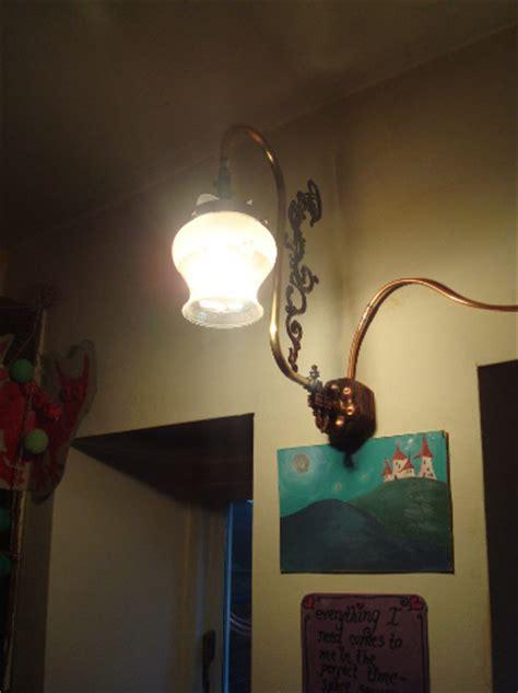 file interior gas lighting 3 light swan neck bracket