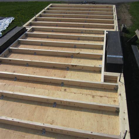 How To Frame A Floor by Tiny House Subfloor Design Bottom Up Subfloor Evolutions
