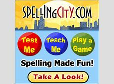 Middle School Spelling City