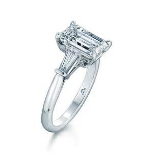 tapered baguette engagement ring 2 tapered baguettes classic platinum glitter jewelry rings engagement engagement rings