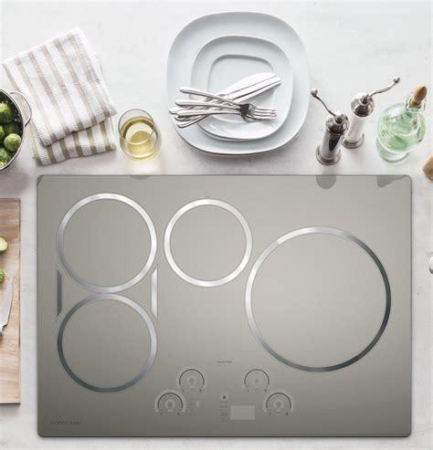 ge monogram  stainless induction cooktop zhursjss