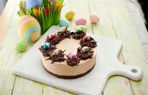 easter egg chocolate mousse cheesecake diy gardening