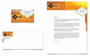 indian restaurant business card letterhead template design With restaurant letterhead templates free