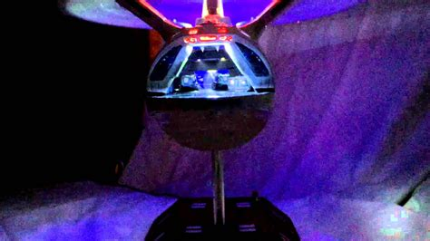 Polar Lights 1350 Scale Star Trek Enterprise A With Smart Board Controlled Lighting Youtube