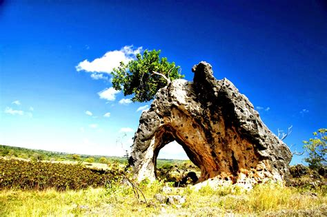 Landscape Of Baucau City ~ Baucau History And Nature Timor