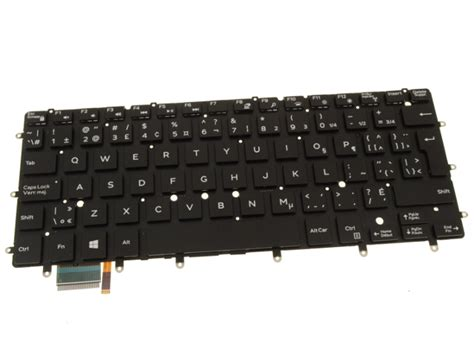 New French-english Dell Oem Xps 13 Laptop Keyboard Mwv23