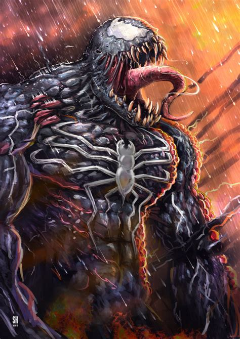 Venom By Huzzain On Deviantart
