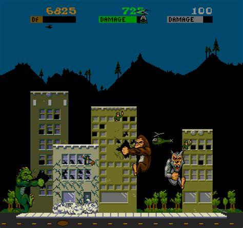 Rampage Screenshots For Arcade