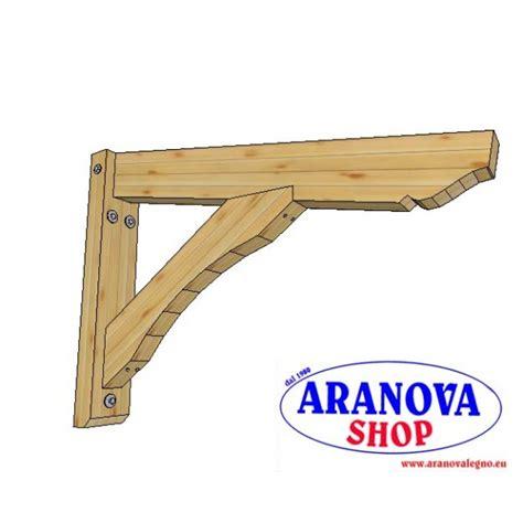 mensole per pensiline mensola per pensilina tettoia aranova legno system e